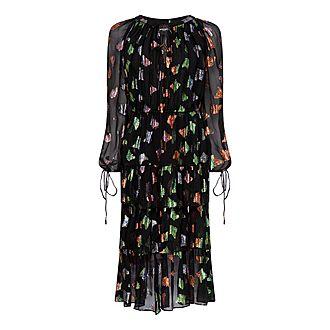 Metallic Butterfly Dress