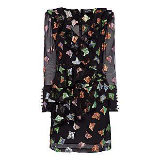 Butterfly Ruffle Dress