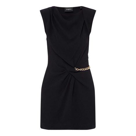 Crêpe Knot Dress, ${color}