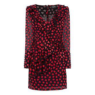 Heart Ruffle Dress
