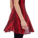 Cap Sleeve Midi Dress, ${color}