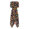 Funky Jungle Midi Dress, ${color}