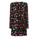 Wraparound Midi Dress, ${color}