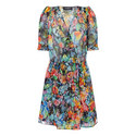 Floral Silk Midi Dress, ${color}