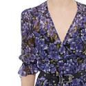 Botanical Print Midi Dress, ${color}