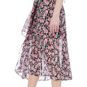 Candy Flowers Wrap Dress, ${color}