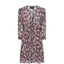 Floral Flared Dress