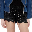 Stud Hipster Shorts, ${color}