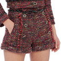 Girly Tweed Shorts, ${color}