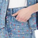 Studded Denim Shorts, ${color}