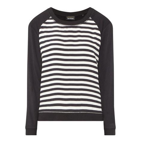 Stripe Sweatshirt, ${color}