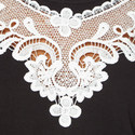Guipure Collar Sweatshirt, ${color}