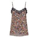 Floral Print Lace Camisole, ${color}