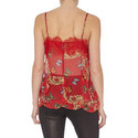 Royal Butterfly Print Camisole, ${color}