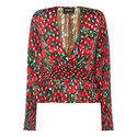 Plunging Poppy Shirt, ${color}