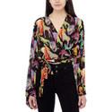 Animal Print Kimono Top, ${color}