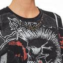 Punk Print T-Shirt, ${color}