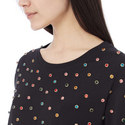 Studded Jersey T-Shirt, ${color}