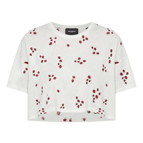 Ladybird Embellished T-Shirt, ${color}