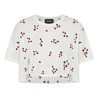 Ladybird Embellished T-Shirt