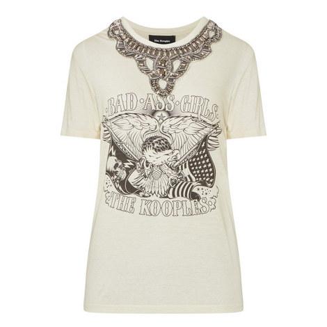 Bejewelled Yoke T-Shirt, ${color}