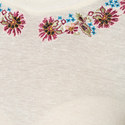 Fleurs D'Artifice Embroidered T-Shirt, ${color}