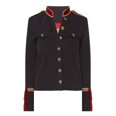 Short Military Jacket, ${color}