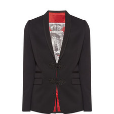 Embroidered Suit Jacket
