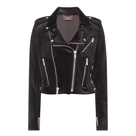 Velvet Biker Jacket, ${color}