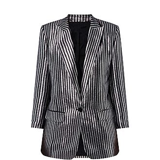 6be3a39a934 Sale THE KOOPLES Stripe Jacket Now €199.00. Was €398.00
