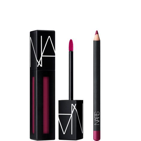 Powermatte Lip Duo: Warm Leatherette, ${color}