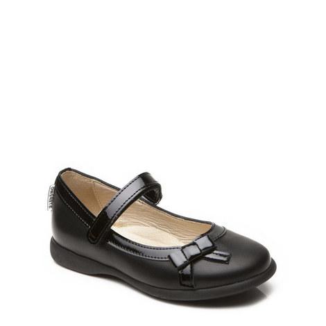 Bernadette Leather Bow Shoes, ${color}