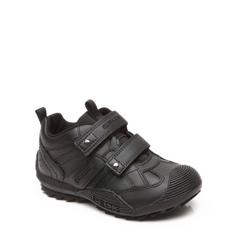 Savage Two Strap School Shoes, ${color}