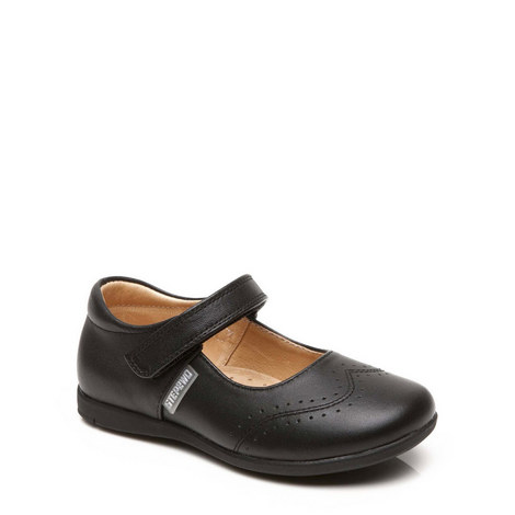 Haley Velcro Bar Shoe, ${color}