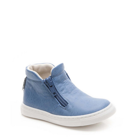 Maurice Zip Mid Top Trainers, ${color}