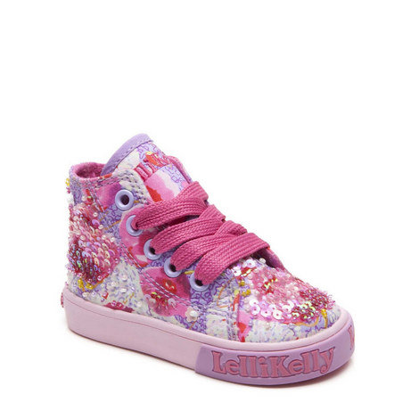 Baby High Top Trainers, ${color}