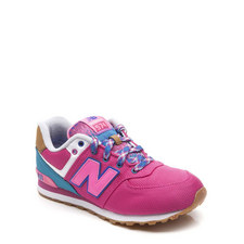 574 Lace-Up Trainers
