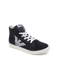 Lace-Up Logo High Tops