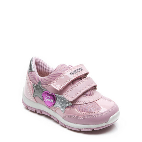 Baby Girls Shaax Velcro Trainers, ${color}