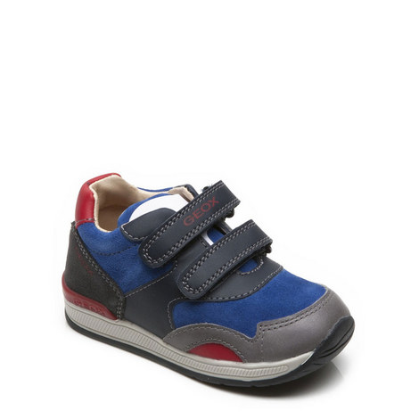 Boys Velcro Strap Trainer, ${color}