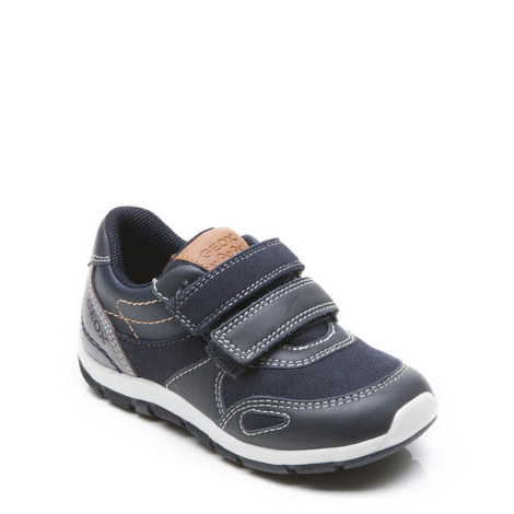 Baby Boys Shaax Velcro Trainers, ${color}