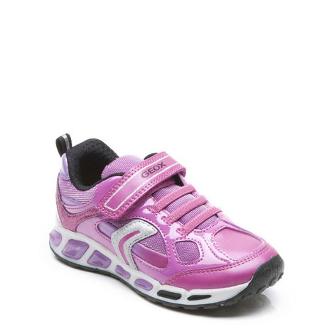 Junior Girls Lights Shuttle Trainers, ${color}
