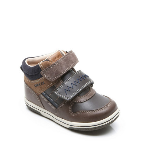 Baby Boys Flick Velcro Trainers, ${color}