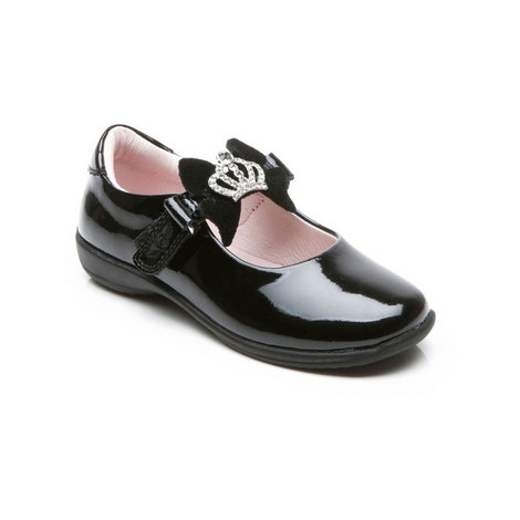 Girls Nicole School Shoes, ${color}