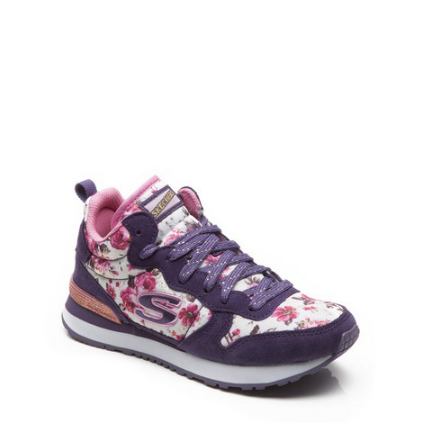 Sketchers Girls High Top Trainers, ${color}
