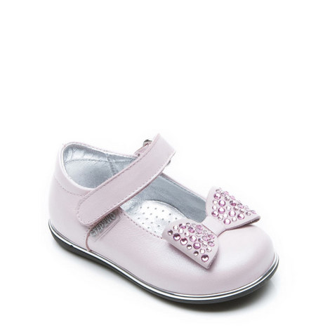 Girls Cecile 2-Bar Shoes, ${color}
