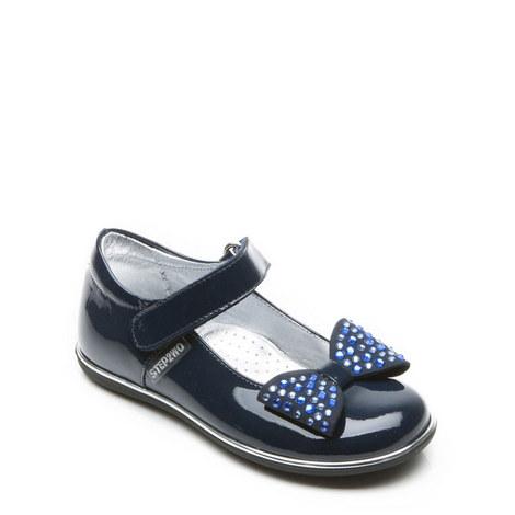 Girls Cecile 2-Bar Shoes, ${color}