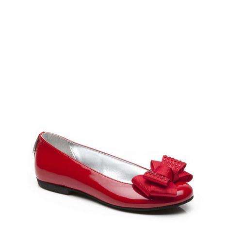 Girls Velma Ballerina Pumps, ${color}