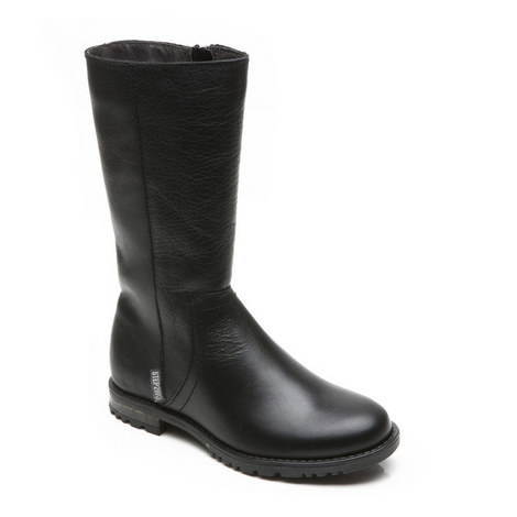 Gia Leather Boots Girls, ${color}