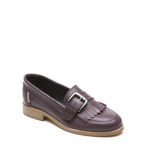 Girls Gina Fringe Shoes, ${color}